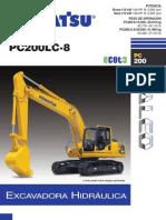 Excavadora Hidraulica Komatsu Pc 200 Lc