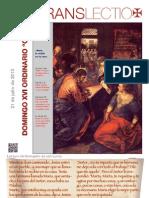 XVI Domingo T.O. (C) - Orans Lectio