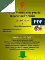 Consejos Nutricionales Dieta DASH SUHA
