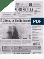 PIANO ARIA SICILIA CHE CONTINUA AD INQUINARE FELICEMENTE no GRAZIE QDS 6 12 11