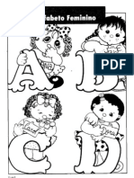 Alfabeto Meninas