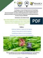 RECONOCIMIENTO DE PROFESIONALES EN SISTEMAS DE REDUCCIÓN DE RIESGOS DE CONTAMINACIÓN EN LA PRODUCCIÓN PRIMARIA DE ALIMENTOS DE ORIGEN VEGETAL