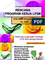 Rencana Program Kerja LP3M.pps
