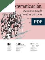 GUIA PARA LA SISTEMATIZACIÓN DE EXPERIENCIAS DE TRANSFORMACIÓN SOCIAL