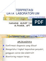 interpretasi data kreatinin klirens