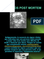 Cuidados Post Mortem