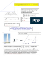 EXERCÍCIOS RESOLVIDOS DE MATEMÁTICA - A CONQUISTA DA MATEMÁTICA - pg 233 (9 a 14) - SEMELHANÇA DE TRIÂNGULOS