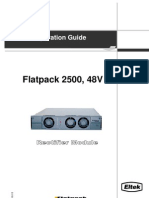 351410 013 OperGde Flatpack 2500 Rectifier PDF