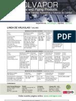 Brochure Valvulas 2012