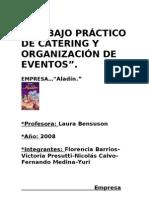 TRABAJO PRÁCTICO DE CATERING Y ORGANIZACIÓN DE EVENTOS