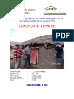 Vivienda Rural Solid-llachoccmayo