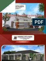 Desain Rumah Sederhana Presentation by Arsindociptakarya