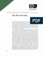 The 5 Factors
