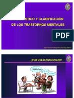 Diagnostico y Clasificaion de Los Trastornos Mentales