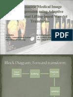 Volumetric Medical Image Compression Using Adaptive Directional Lifting