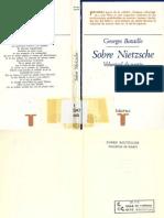 BATAILLE Sobre Nietzsche Voluntad