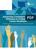 Advancing Competency-Based Pathways to College and Career Readiness