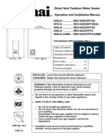 Indoor Installation Manual