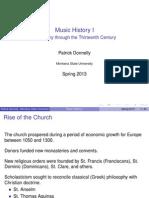 History of Polyphony