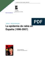 La Epidemia de Rabia en Espana