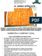 Turkish Dried Apricots - Processing Stages