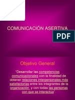 COMUNICACIÓN ASERTIVA y PNL