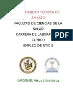 Informe Virus y Antivirus