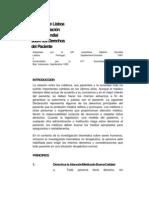 Declaración de Lisboa de la Asociación Médica Mundial sobre los Derechos del Paciente