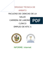 Informe Internet