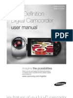 Samsung Camcorder HMX-R10 User Manual