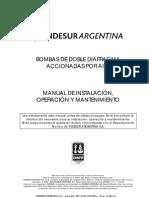 Manual Bombas de Diafragma