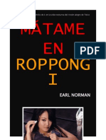 Earl Norman - Mátame en Roppongi