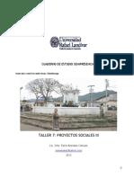 Cuaderno de Trabajo Taller 7 Proyectos Sociales III 2013