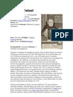 Johann Tetzel - Biografia