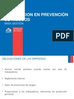 Orientacion en Prevencion de Riesgos