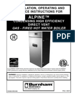 Alpine Boiler Manual