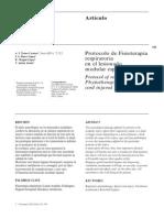 Protocolo de Fisioterapia Lesionado Medular