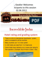 Rating and Grading of Hotels