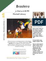 Ginga Brazileira at Mitchell Library