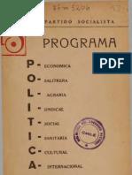 1936 Programa PS