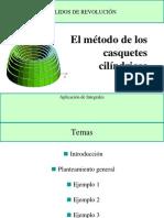 Volumen de Metodo de Casquete Cilindrico Parte 2 Final