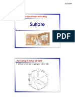 Chapter 14 Sulfate