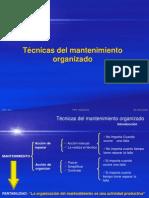 Técnicas del mantenimiento organizado