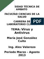 Subir Achivo Virus