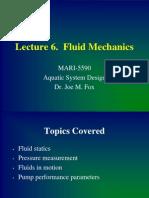 Tech Production Fluidmechanics