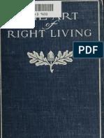 The Art of Right Living - Ellen Richards