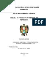 Proyecto de Investigacion Granadilla