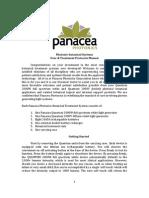 Panacea Photonics User Manual