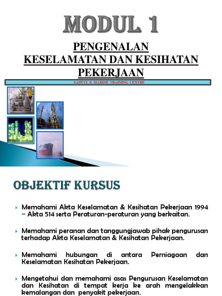 Akta Keselamatan Dan Kesihatan Pekerjaan 1994 Akta 514 Pdf