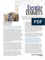 Executive Insights HSL Interview